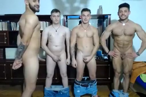 4 Romanian Gorgeous Boys With Hard Cocks Have Fun On Cam aaa midget hockey tournaments