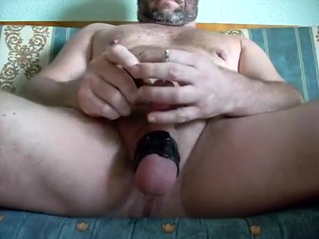 Unfathomable Sounding + cum Pink pussy wide open