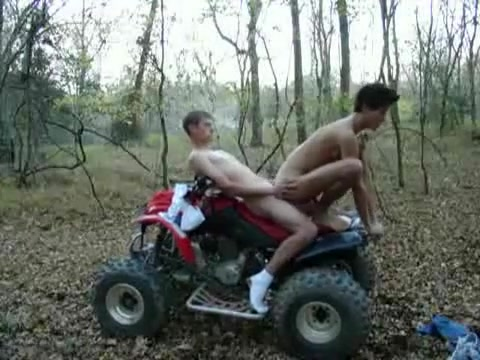Sex On The Four Wheeler Upskirt sniper white