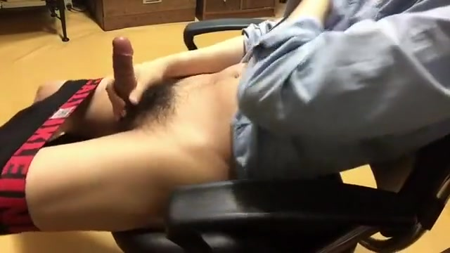 Incredible male in amazing handjob homo porn scene Bouncing swinging tits