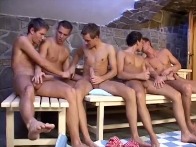 Group Of Guys Wanking Together Gta strip club blow
