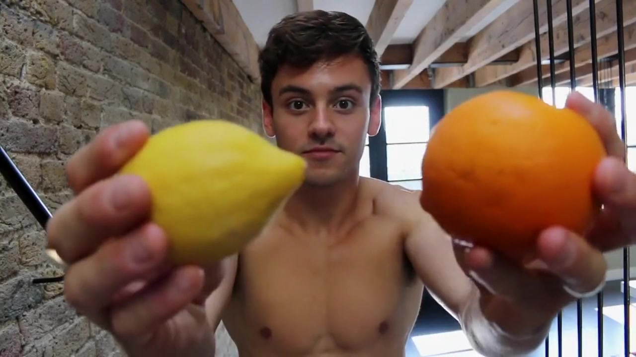 Tom Daley The Switch Fruit Juice To Fruit Water janine l porn star