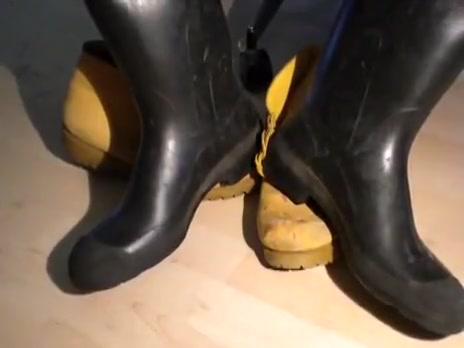 nlboots - (no brand) dark rubber boots Rejser til rom med hotel