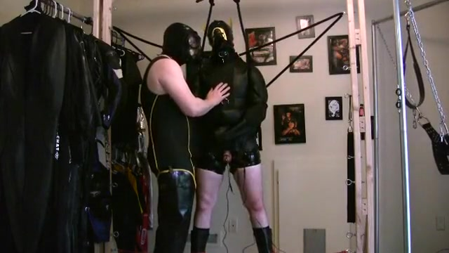 Neoprene Straitjacket Part 1 blind girl sex tube