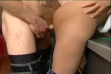 Teaching Him Pool penis popped out clips