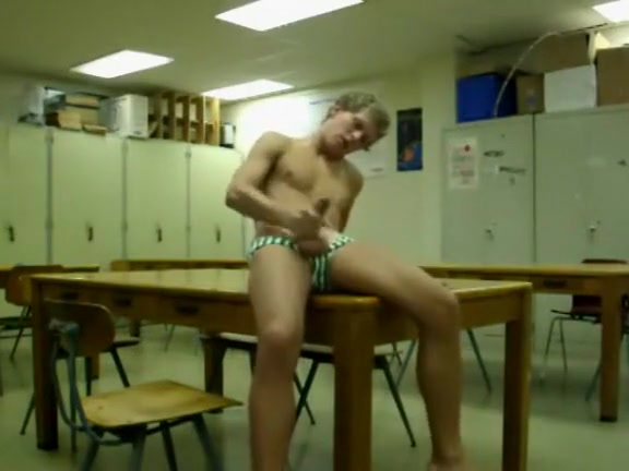 Wanking In The Classroom sexy naked booty dancing
