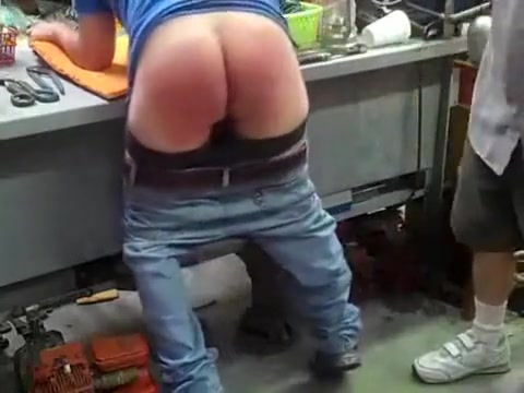 Bent Over Work Bentch Massive tit vidz
