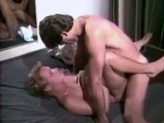 Vintage Blow Job Seduction naked with long hairs