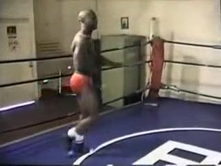 Wrestling - Ec3 Naked ass hole