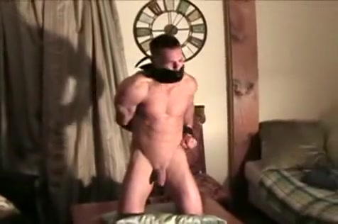 Muscle Guy Fuckes Younger Men with boob jobs