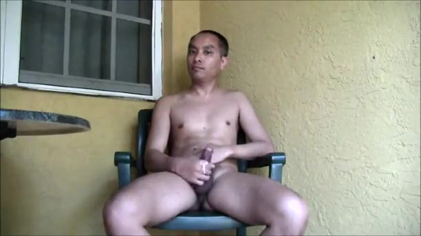 Masturbating on the balcony The most sexy women