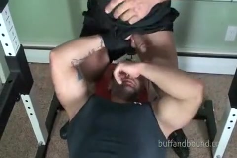 Buff Muscle Model Posing Practice Redhead big tits mature