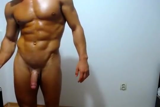 Brad Star Solo With Dildo Russian style blowjob