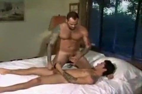 Johnny And Damien Horny Bitch Does Some Sucking