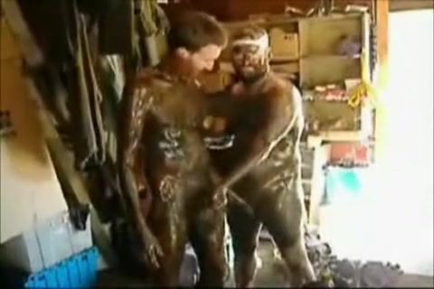 Crazy male in horny bears, fetish gay sex scene Jerked Off Into Panties