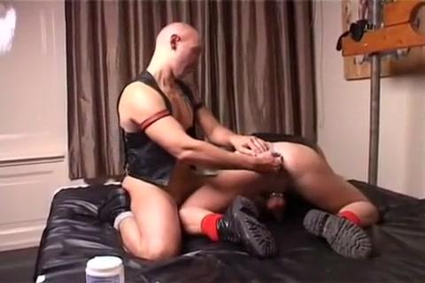 The Eagle Spread Bikini slave masturbate penis and squirt