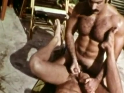 Amazing male in fabulous vintage homo xxx scene Riding Stick Shift