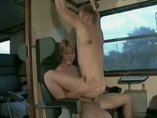 Amazing male in exotic uniform, bareback homo adult scene Pussy slips caught on camera