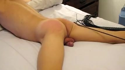 Butt Whipping and CBT Big white tits black cock sex