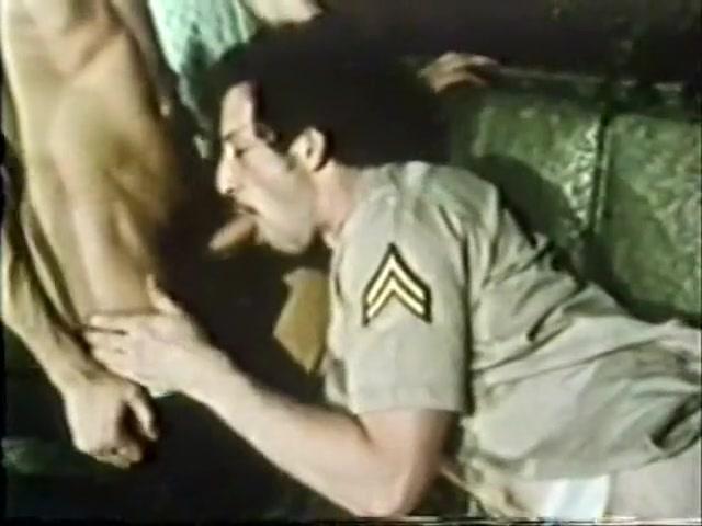 Horny male in exotic vintage gay sex movie Look up former marines