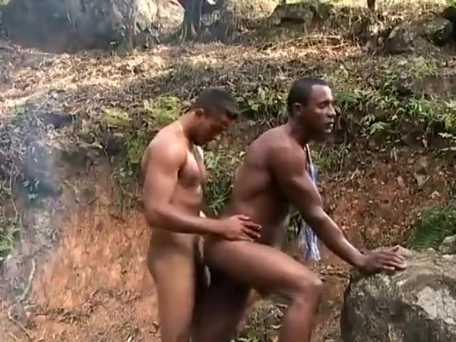 Black studs ass fucking outdoor Sex with multiple men pictures