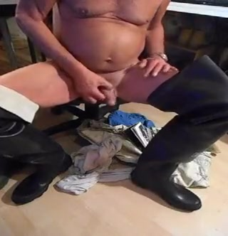 nlboots - urinate jerking off waders fucked in pillory and stocks