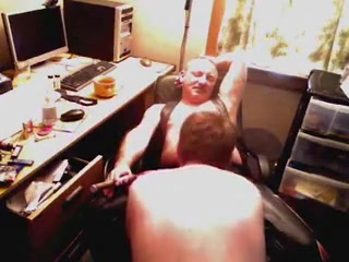 Fresh Boi - Earning His Lunch Lezdom rams slave pussy and tits