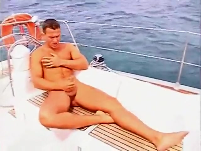 Yummy Guy Wanking On A Yacht lesbian hentai video games