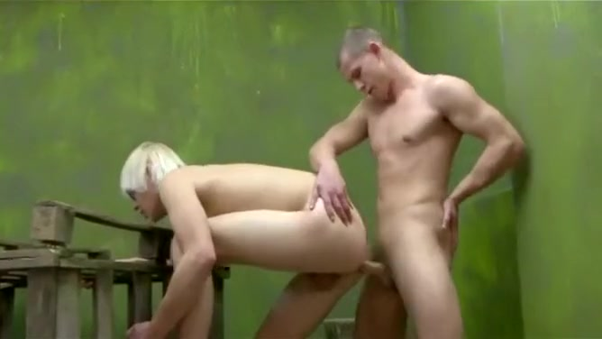 Shaggy Blond Fucked tied up nude girl
