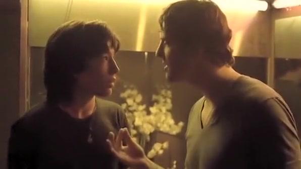 Ezra Miller Amp Tilky Jones Kiss In Spontaneous acts of blowjob