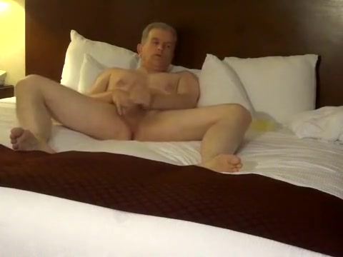 Silver Daddy on the hotel bed Hothd India