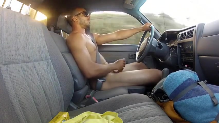 Driving Around Naked Lesbian Teens playing With Their Pretty Kitties