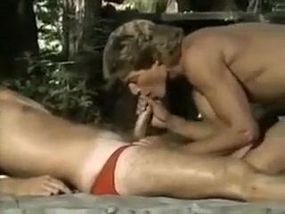 Vintage Ranger hot ass brunette reading a book while getting fucked