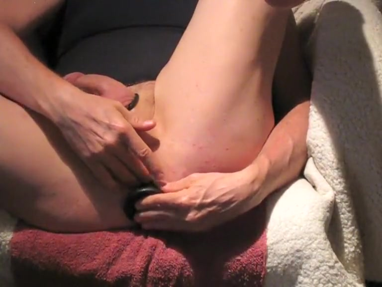 Plug Nplay Hard Fucked in the mouth during massage