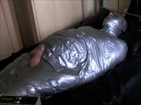 Slutboi Mummified free big tits cfnm handjob