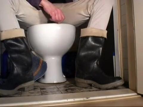 nlboots - toilet & rubber boots Xxx Old Womans