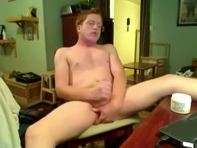 Redhead Guy In Front Of His Webcam Amatuer black guy eat pussy