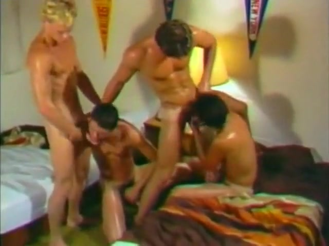 Kc And Friends Four Way Gay Tube Oral Action Learns anal