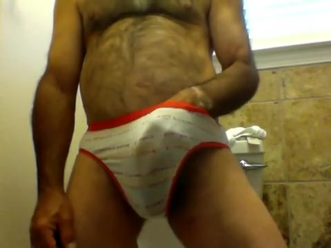 pee and cum in wifes panties Twink porn eating cum