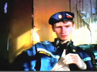 Russian Sergeant Beautiful amateur blonde passenger stuffed in the taxi
