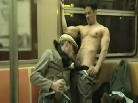 Blowjob On Public Train hot girl dildo masturbates