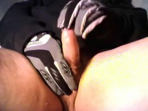Stroking with Answer Racing synchron Gloves and then cumming Whores in Rehovot