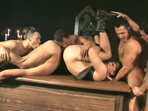 Horny amateur gay movie with Group Sex, Rimming scenes Dom erotic fem free story