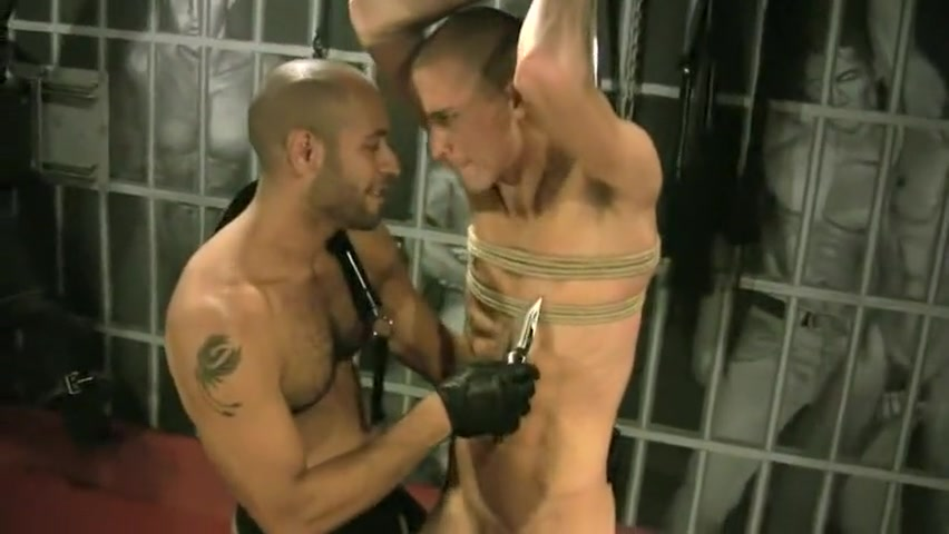 Horny homemade gay movie with Leather, Bondage scenes 18 year old cum