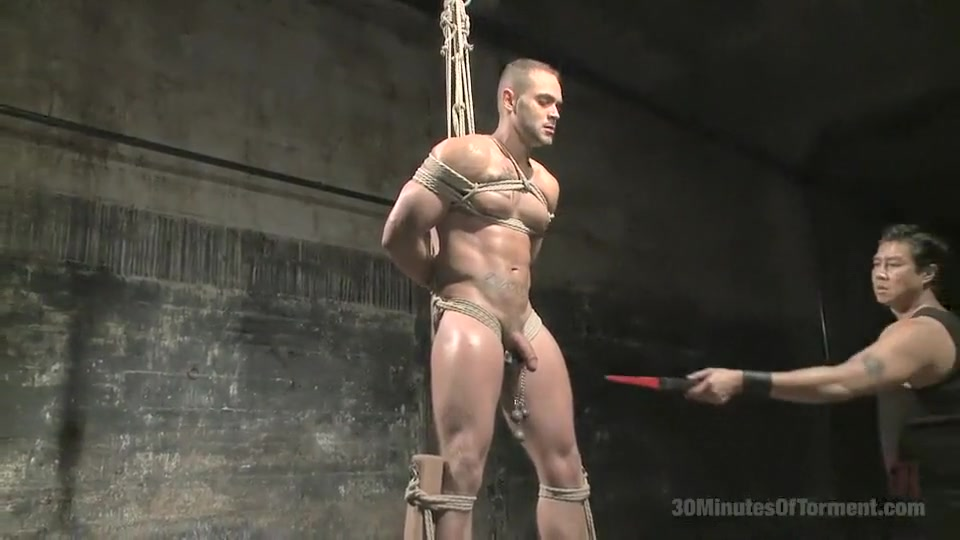 Muscled stud Brock Avery Tormented and Fucked What is a juicy pussy