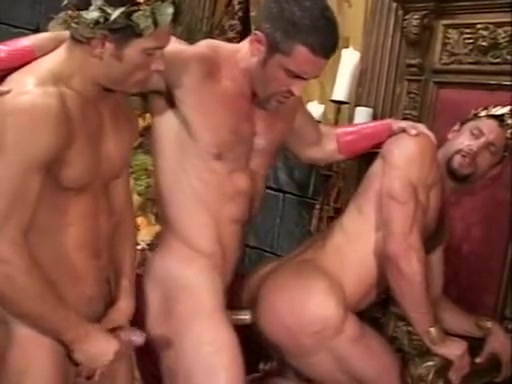 Conquered2 two dicks gay anal fuck