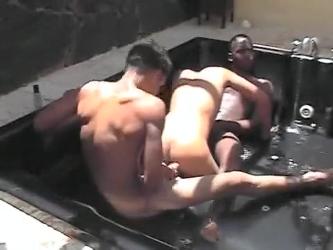 Latin boys jacuzzi fun Busty uk mistress