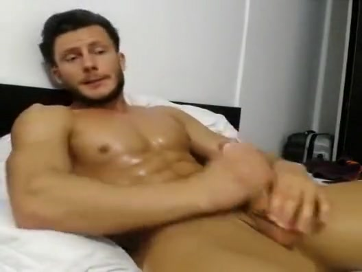 Horny guy jerking off on cam Womens naked sex yoga