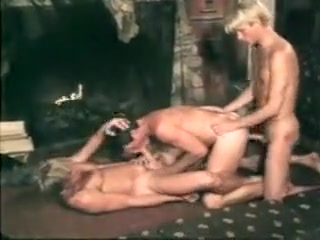 Blondes Do It Best - 1986 Dildo hunk porn gif