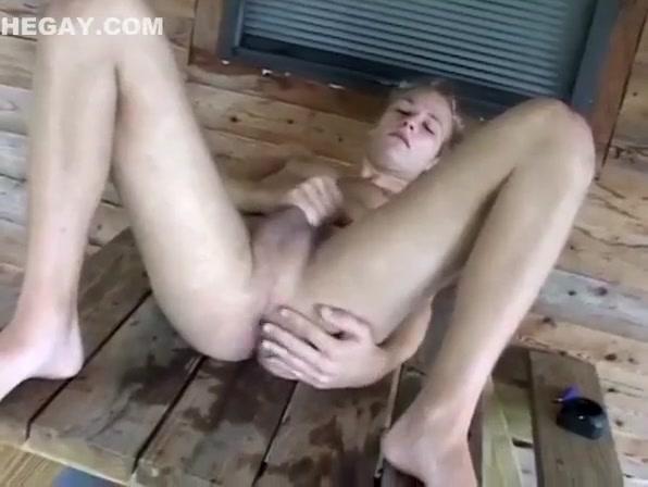 Hottest male in crazy handjob, solo gay sex scene Boobs italian